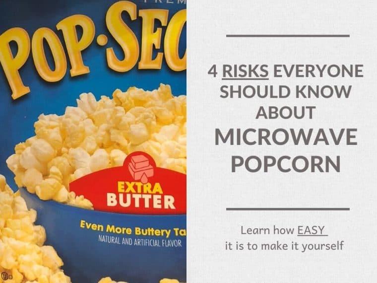 popp secret extra butter popcorn package