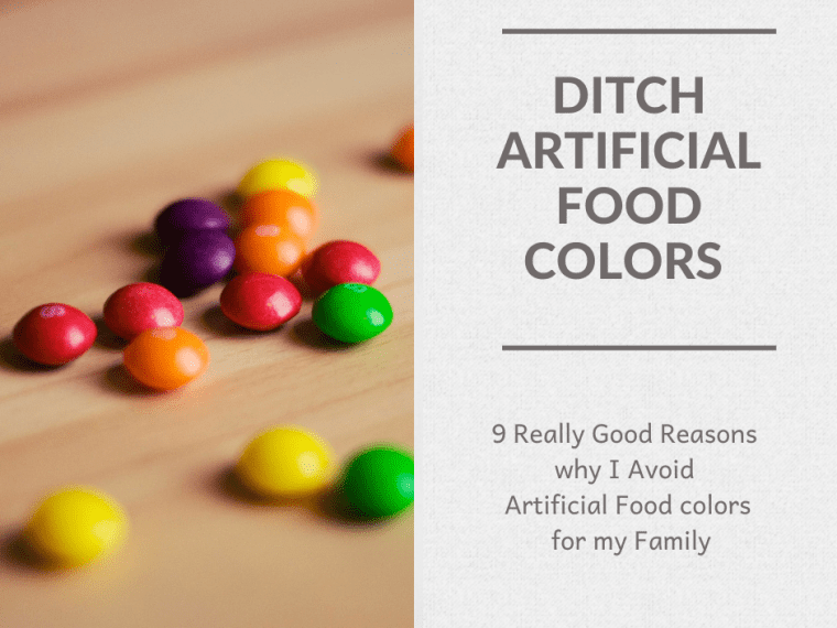 Ditch Artificial Food Colors - Skittles on a Table