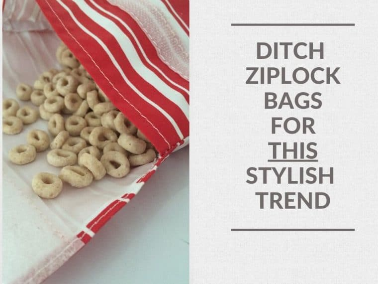 ditch toxic platstic ziplock bags