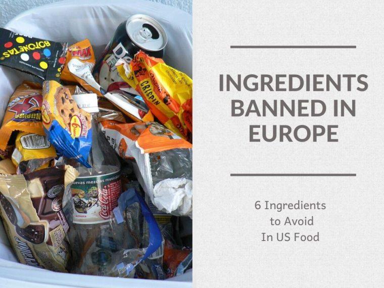 junkfood wrapers in trashcan