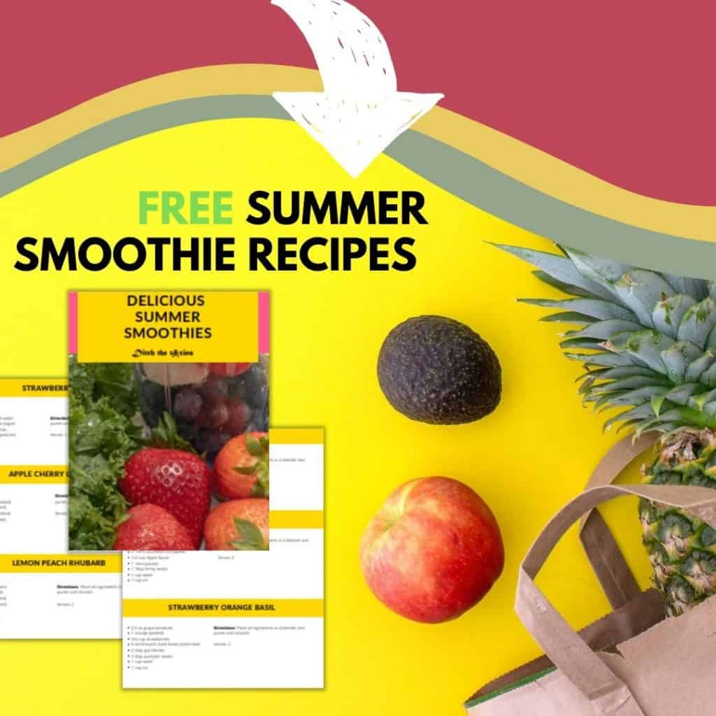 Free summer smoothie recipes